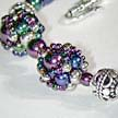 Mini Diamond Net Beaded Bead