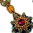Rivoli Urchin Necklace