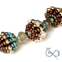 Spinning Top Beaded Bead - Free